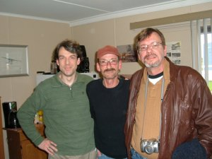 Niall McArdle, Roddie McFadzean, Jerome Coulas