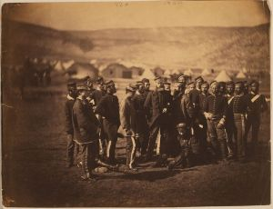 Surviivors of the Charge photographed by Roger Fenton