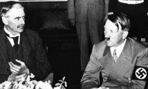 Chamberlain and Hitler at Berchtesgaden