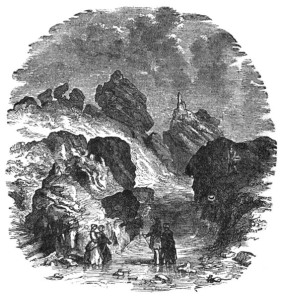 The Long Hole, Ireland's Eye, where Maria Kirwan's body was found