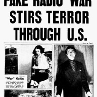 """We interrupt this program …"" The Radio Broadcast that Panicked America (UPDATED)"