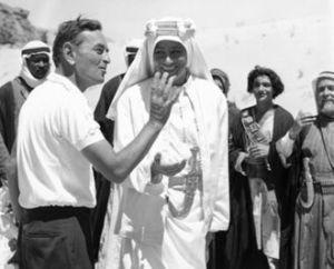 David Lean directing 'Lawrence of Arabia'