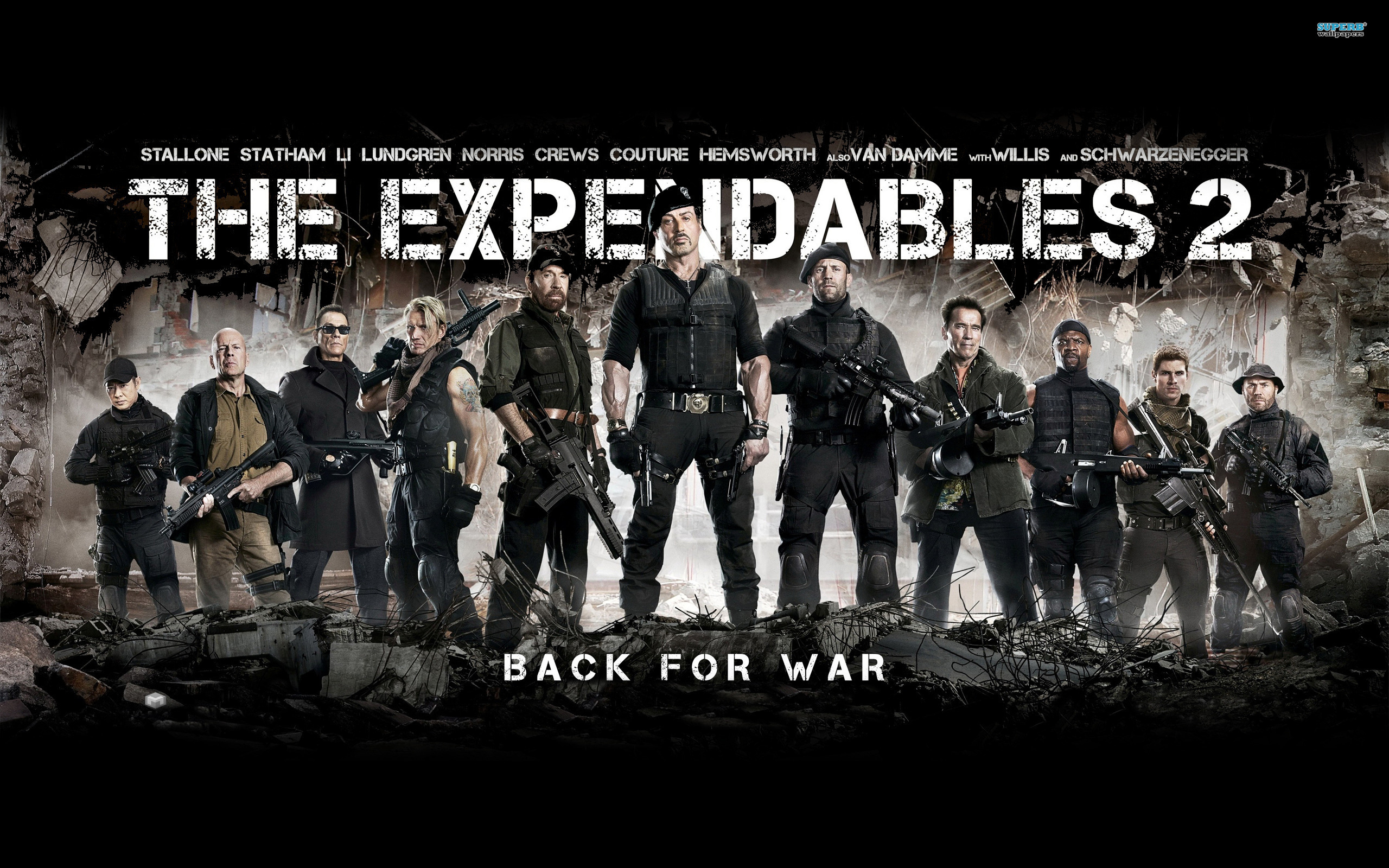 """The Expendables 2"": Double the action, half as much fun ..."