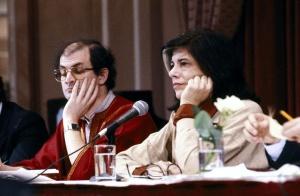 Susan Sontag and Salman Rushdie