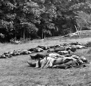 gettysburg Battle dead Ghost Confederates