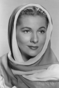 Joan Fontaine, actress