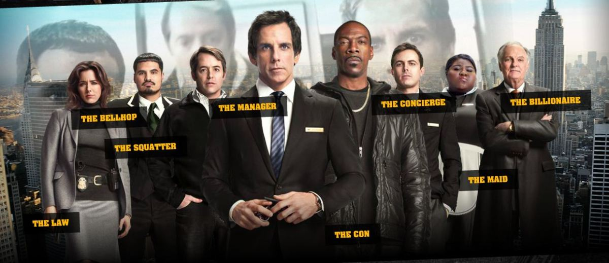 Tower Heist (DVD review) | The Fluff Is Raging