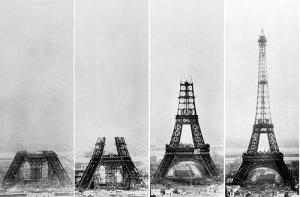 Bon Anniversaire, Tour d'Eiffel