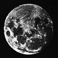 The First Photo of the Moon: March 23rd, 1840