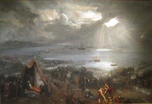 Battle of Clontarf by Hugh Frazer