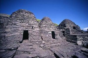 Monastic cells on the island. source: sacredsites.com