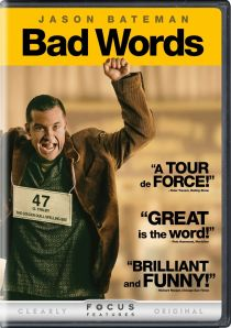 """Bad Words"" starring and directed by Jason Bateman. Also featuring Alison Janney. Both Bateman and Janney costarred with Ellen Page in ""Juno"". Page costars with Jennifer Lawence in ""X-Men: Days of Future Past"". J-Lawness Scale 3.5"