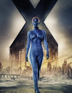 """X-Men: Days of Future Past"" starring naked Jennifer Lawrence and some other people that you don't care about. source: frakingfilms.net"