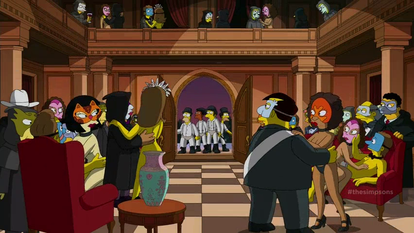 A Clockwork Yellow All The Stanley Kubrick Film References In The Simpsons Treehouse Of Horror The Fluff Is Raging