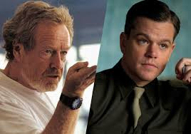Ridley Scott and Matt Damon heading to Mars. (source: indiewire)