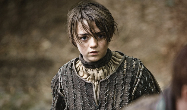 Arya Stark has #TheSight. source: HBO