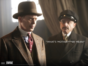 Nucky Thompson has his vocabulary broadened by Chalky White