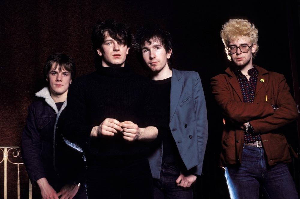 Photo of Adam CLAYTON and THE EDGE and BONO and U2