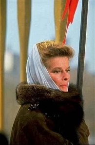 "Katharine Hepburn as Eleanor of Aquitaine, ""The Lion in Winter"""