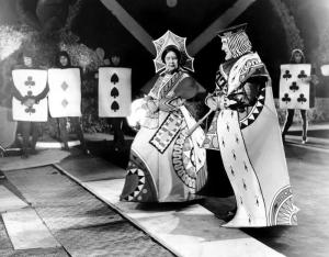 "May Robson as the Queen of Hearts, ""Alice in Wonderland"""