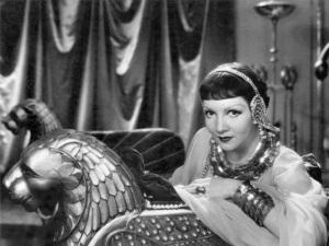 "Claudette Colbert, ""Cleopatra"""