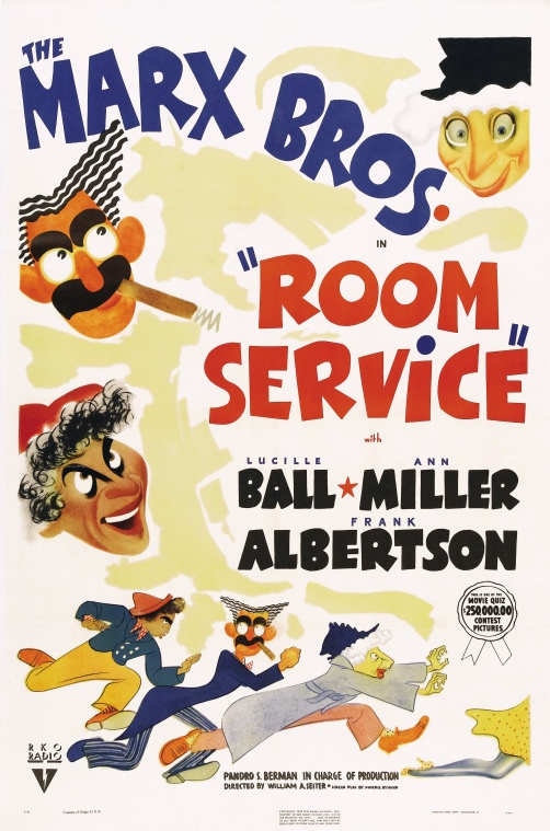 Poster - Room Service_01