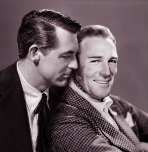 Grant and Randolph Scott set up house as a couple of swinging bachelors