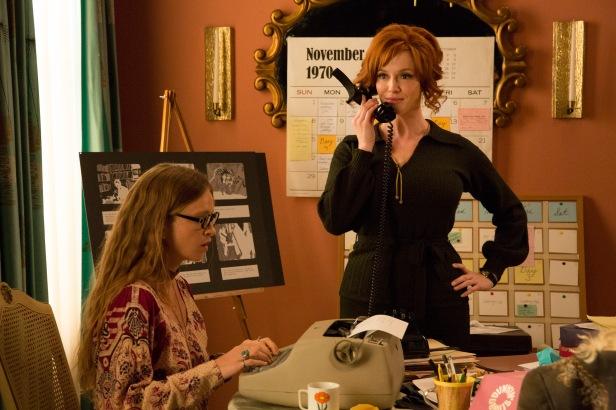 Christina Hendricks as Joan Harris - Mad Men _ Season 7B, Episode 14 - Photo Credit: Michael Yarish/AMC
